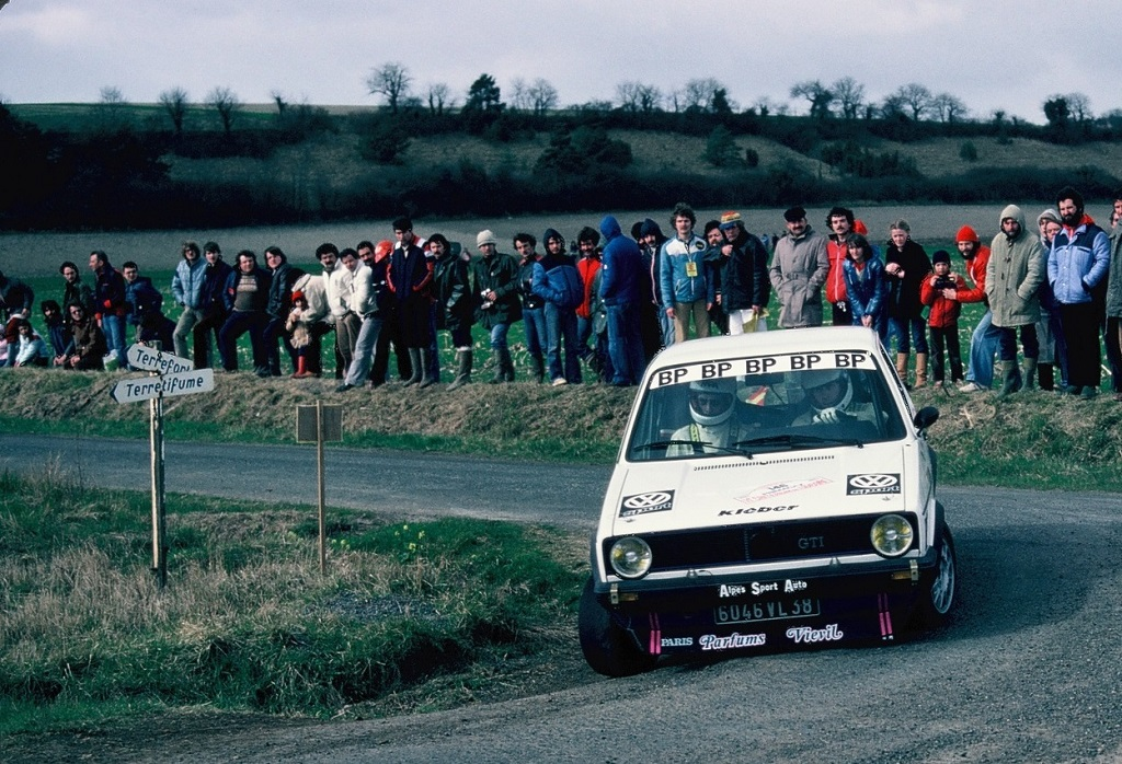 Revel-Tavet - VW-Golf-GTI - 1981 - Rallye-Touraine - Photo -Thierry-Le-Bras