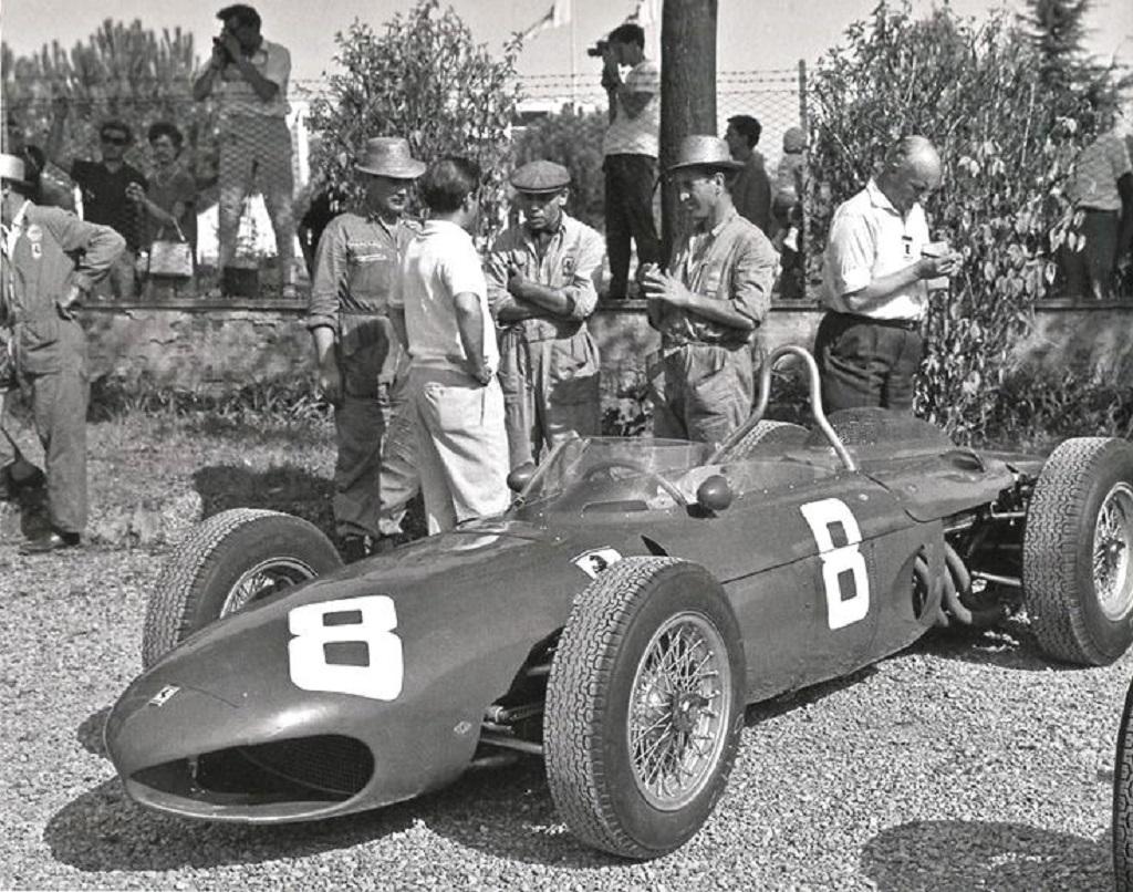 Ricardo-Rodriguez- Ferrari-156- 1961