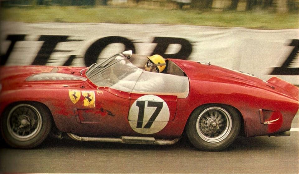 Ricardo-Rodriguez-Pedro-Rodriguez-Ferrari - 1961 - Le-Mans