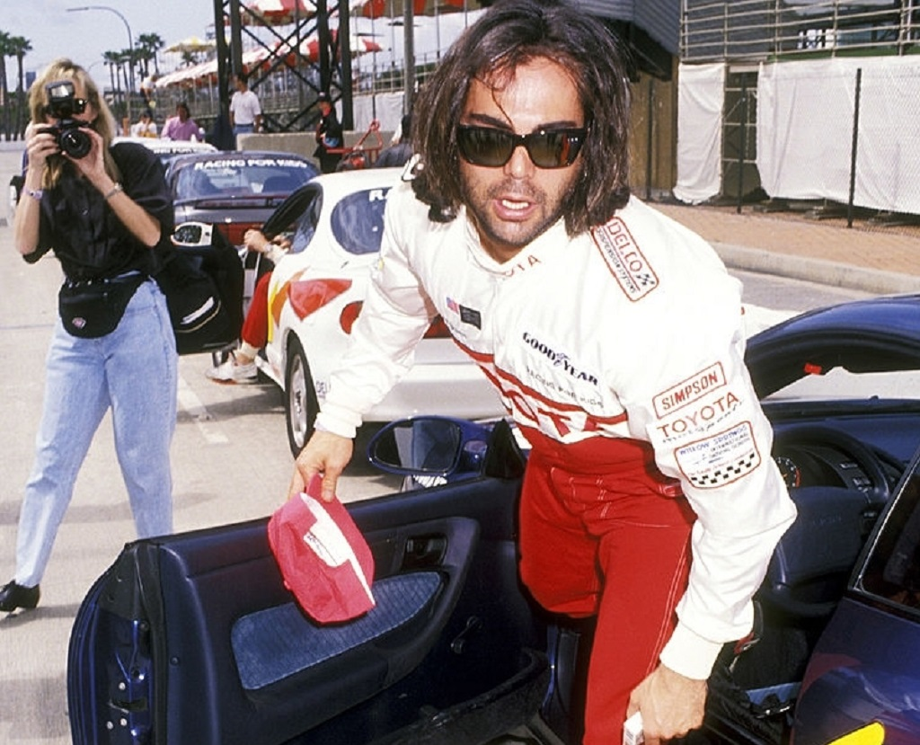 Richard-Grieco - Toyota-Celebrity-Race