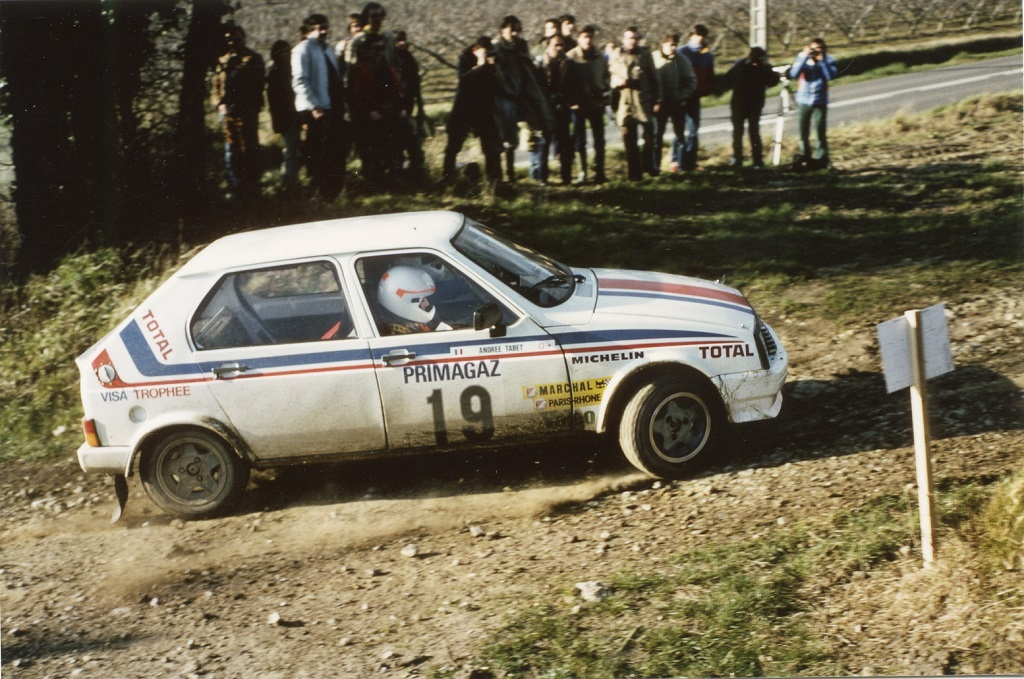 Rio-Tabet - Citroën-Visa- 1 - 1982 - Critérium-de-Touraine- Photo - Thierry-Le-Bras