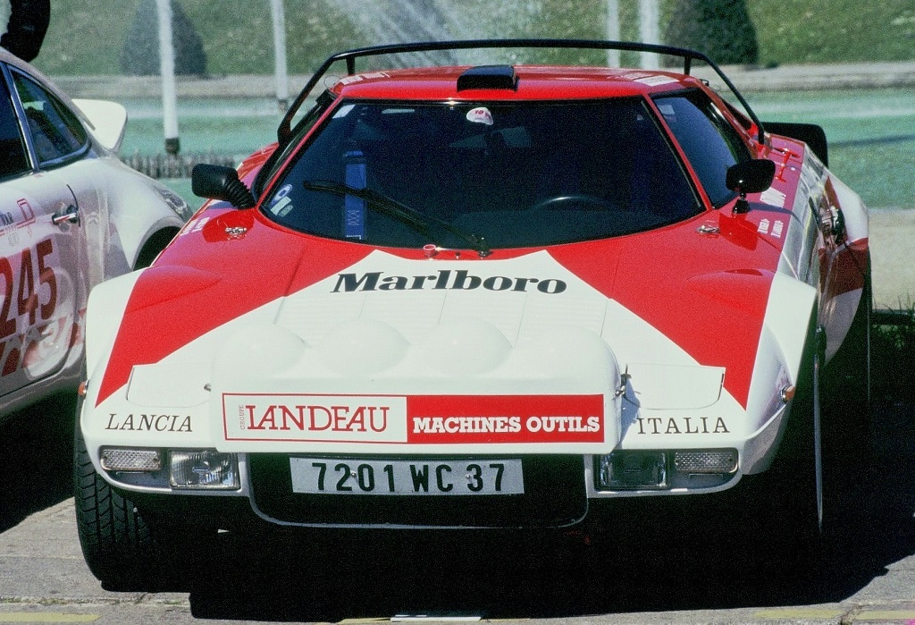 Roger-Landeau - Lancia-Stratos-1- 2003 - Tour-Auto- Photo-Thierry-Le-Bras