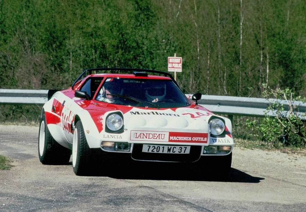 Roger-Landeau - Lancia-Stratos-2- 2003 - Tour-Auto- Photo-Thierry-Le-Bras