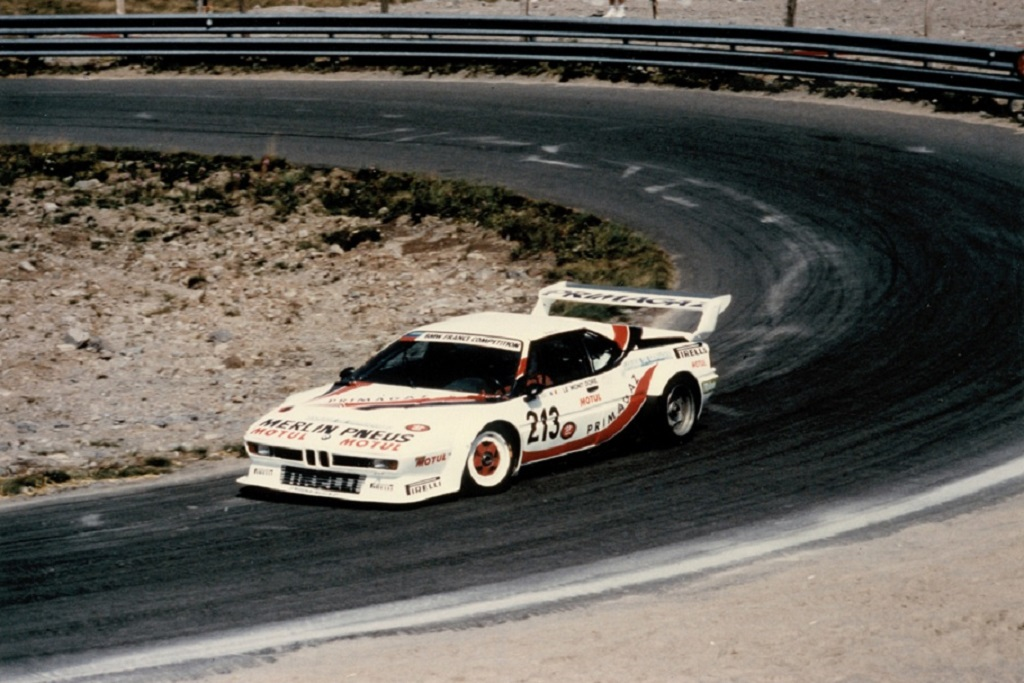 Rossi-BMW-M1-groupe-B- 1985 - CC-Mont-Dore- Photo-Thierry-Le-Bras