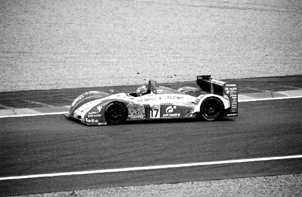 Sébastien-Loeb - Pescarolo-C60-Hybrid - 2006 - Le-Mans - Photo-Thierry-Le-Bras