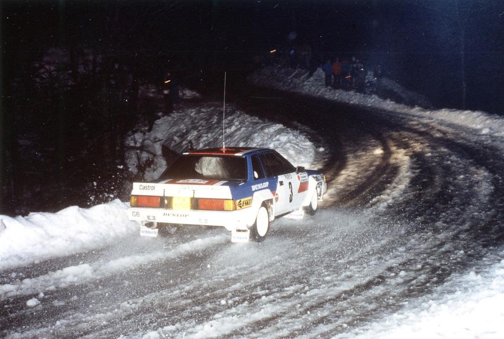 Salonen-Harjanne - Nissan-240-RS - 1984 - Rallye-Monte-Carlo - Photo-Thierry-Le-Bras