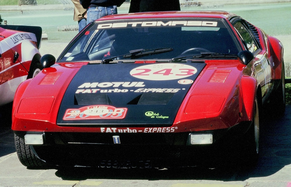 Schwingen-Schwingen - De-Tomaso-Pantera-GTS -1- 2003 - Tour-Auto- Photo-Thierry-Le-Bras