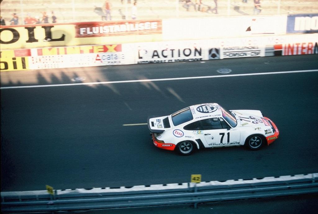 Segolen-Gadal-Ouviere - Porsche-Carrera-RSR - 1976 - Le-Mans - Photo - TLB
