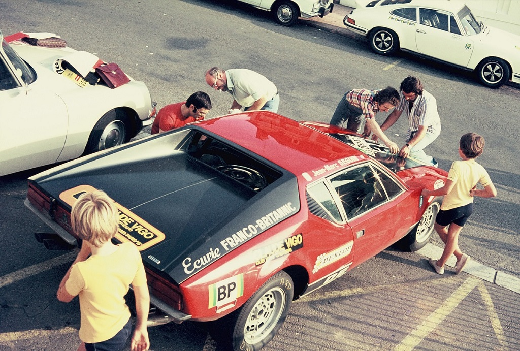 Seguin - De-Tomaso-Pantera - 1973 - Dinard - Grand-National-Tour-Auto - Photo-Thierry-Le-Bras