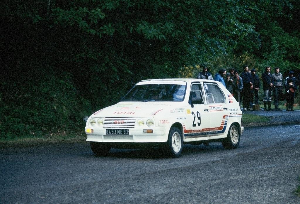Seignobeaux – Sitarz - Citroën-Visa-groupe-B - 1984 - Rallye-de-La-Baule- Photo- Thierry-Le-Bras