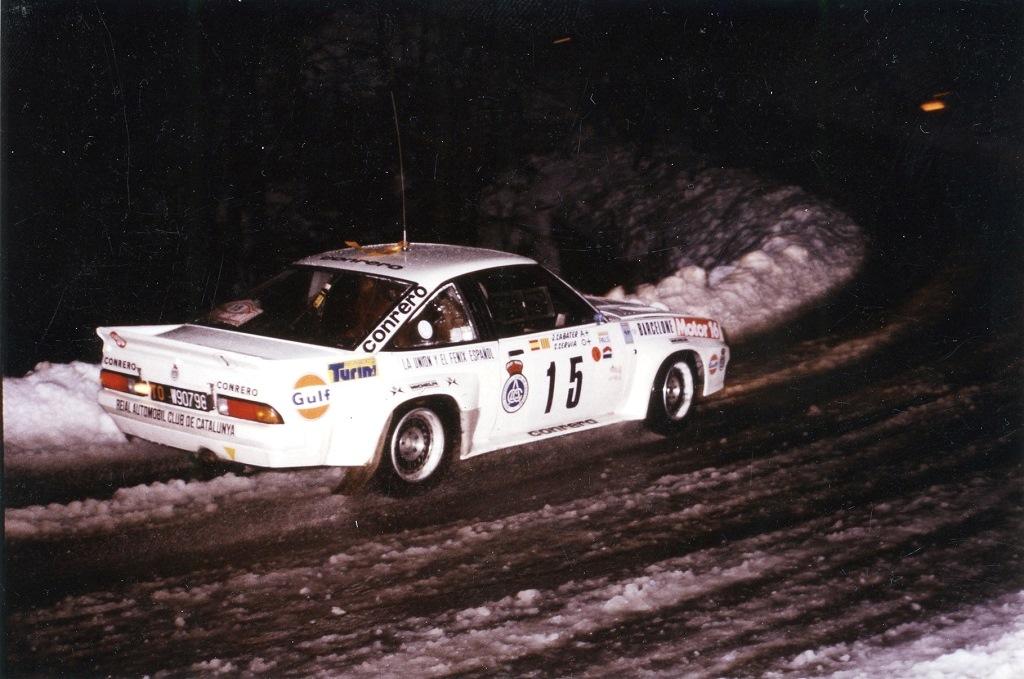 Servia-Sabater - Opel-Manta-400 - 1984 - Rallye-Monte-Carlo - Photo-Thierry-Le-Bras