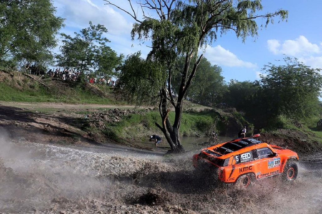 Sheldon-Creed - Gordini - 2016 - Dakar-Prologue - Photo- Robby- Gordon- Com