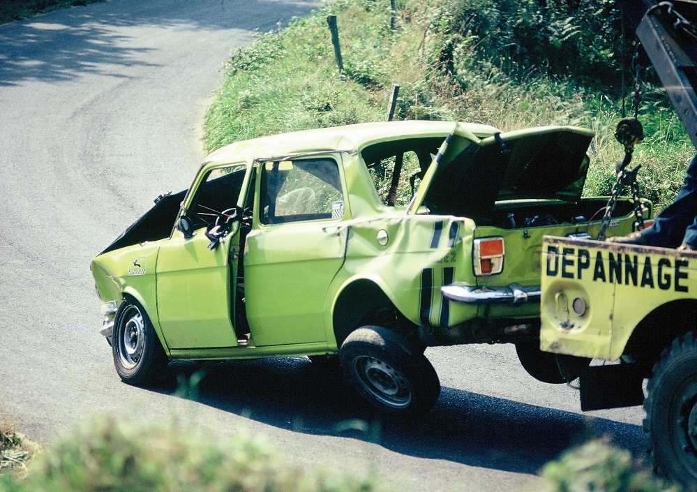 Simca-1000-Rallye-2 - 1973 - CC-Saint-Gouëno- Photo-Thierry-Le-Bras