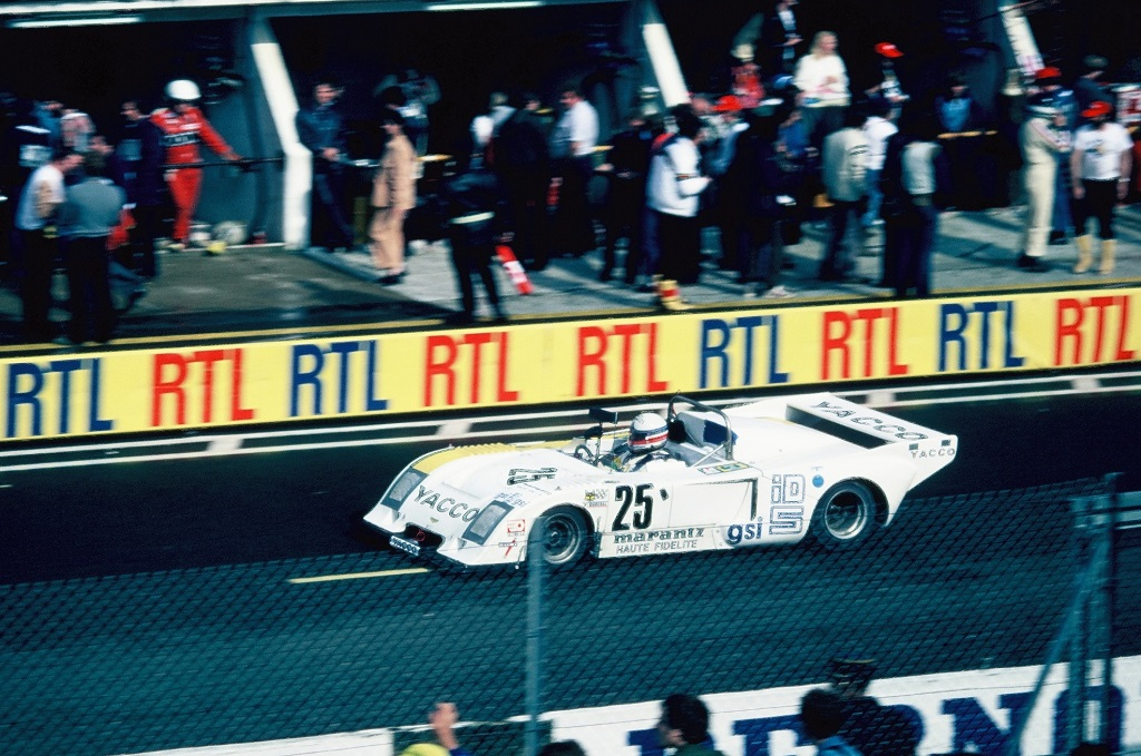 Sotty- Hesnault- Laurent - Chevron-B-36- 1980 - Le-Mans- Photo-Thierry-Le-Bras