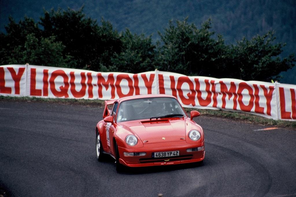 Soutrenon -Porsche-993-RS - 2002 -CC-Mont-Dore- Photo-Thierry-Le-Bras