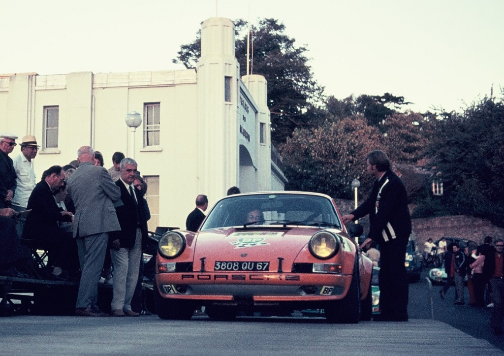 Striebig-Cristini Porsche-911 - 1973 - Dinard - Grand-National-Tour-Auto - Photo-Thierry-Le-Bras