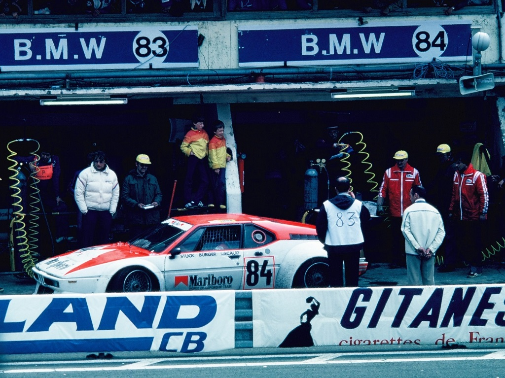 Stuck-Lacaud-Bürger - (2) - BMW-M1 - 1980 - Le-Mans - Photo-Thierry-Le-Bras