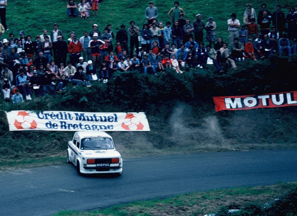 Talbot- Rallye-3 - 1981 -Saint-Gouëno- Photo-Thierry-Le-Bras