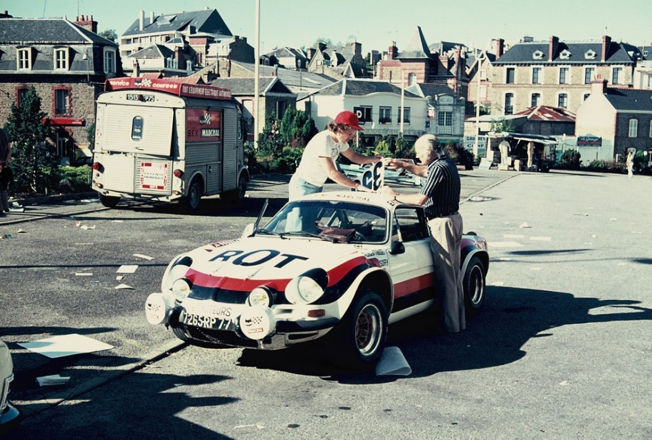 Teillet - Apine-Berlinette - 1973-Dinard - Grand-National-Tour-Auto - Photo-Thierry-Le-Bras