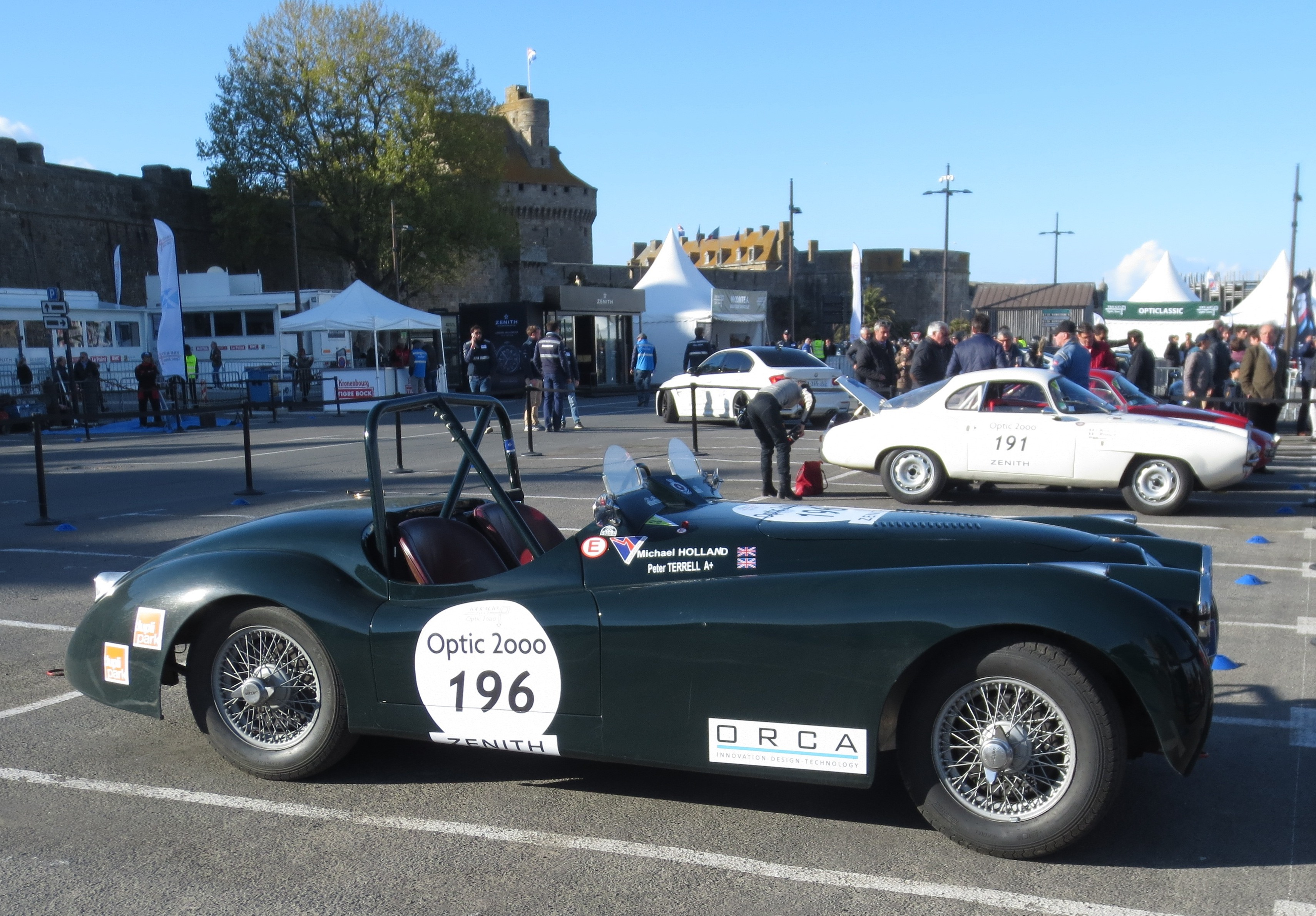 Terrell-Holland - Jaguar-XK-120 - 2017 - Saint-Malo - Tour-Auto - Photo-Thierry-Le-Bras