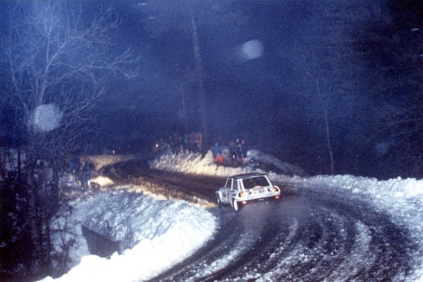 Thérier-Vial - R5-Turbo - 1984 - Rallye-Monte-Carlo - Photo-Thierry-Le-Bras
