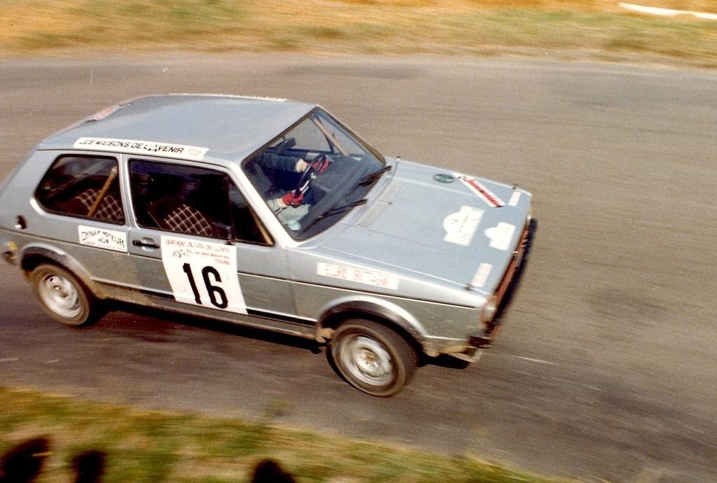 Thierry-Le-Bras -2- VW-Golf-GTI - 1977- CC-Neuvy-le-Roi