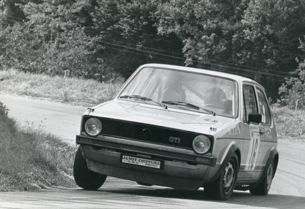 Thierry-Le-Bras -5- VW-Golf-GTI - 1977- CC-Neuvy-le-Roy- Photo- Photo-Actualité