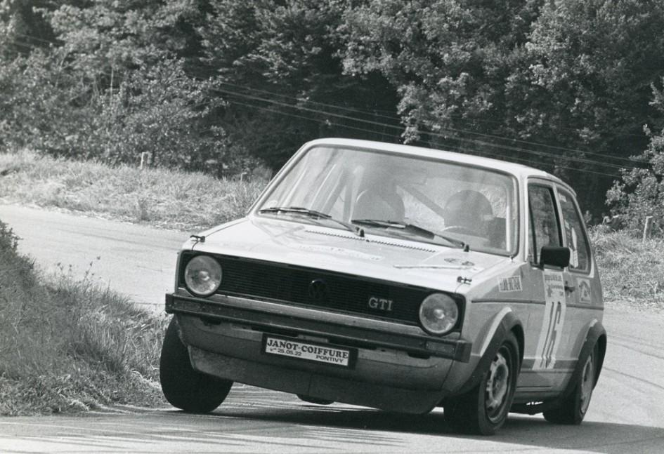 Thierry-Le-Bras -5- VW-Golf-GTI - 1977- CC-Neuvy-le-Roy- Photo- Photo-Actualité