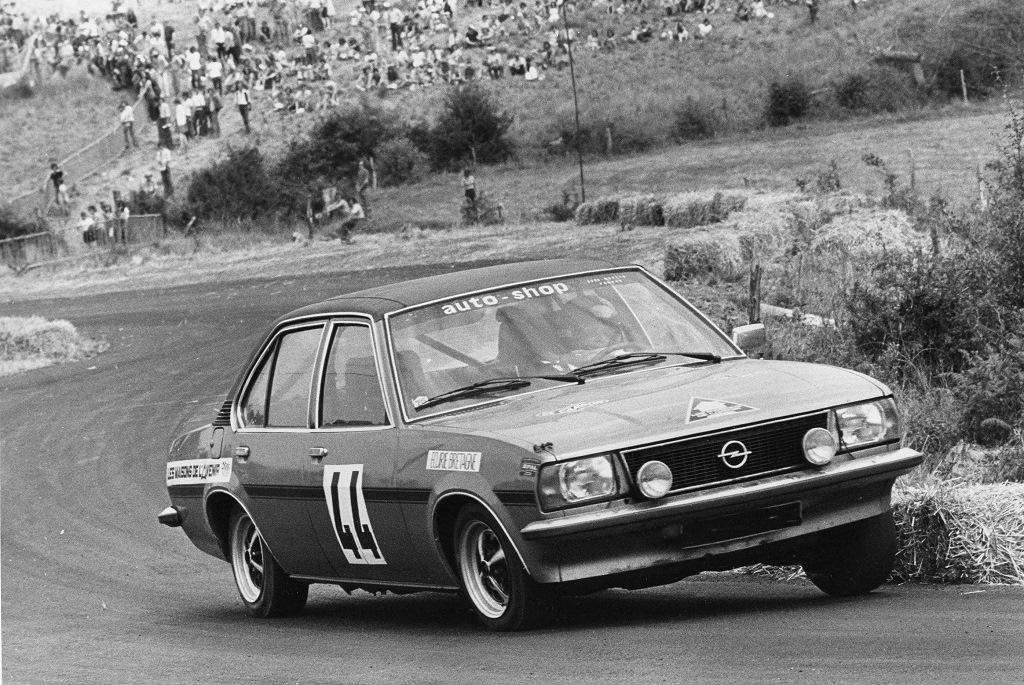 Thierry-Le-Bras - Opel-Ascona-19-SR - 1976 - CC-Pouillé-les-Coteaux - Photo-Photo-Actualité