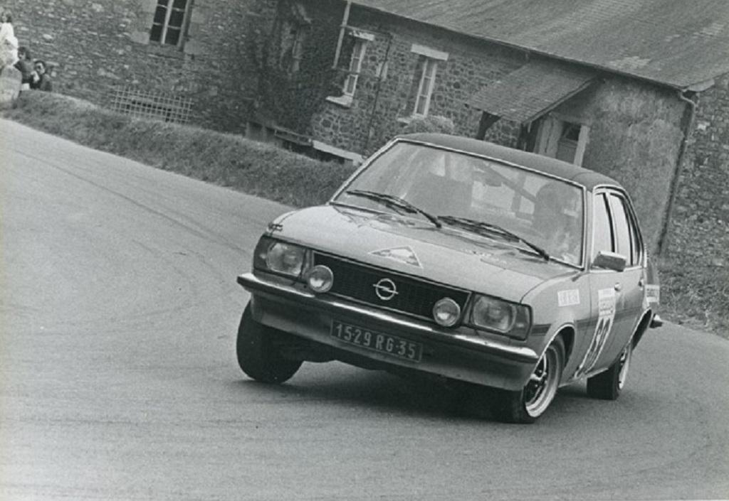 Thierry-Le-Bras -Opel-Ascona-19-SR - 1976 -CC-Saint-Germain-sur-Ille - Photo-Photo-Actualité