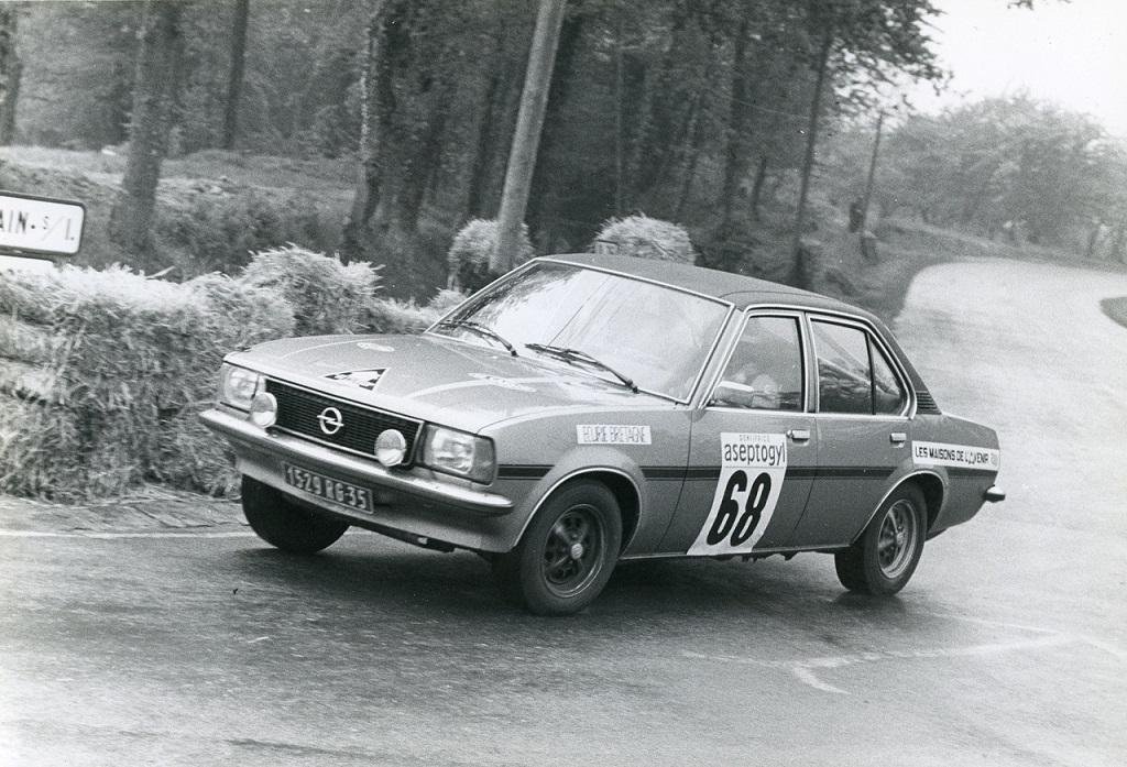 Thierry-Le-Bras -Opel-Ascona-19-SR - 1976 - essais-CC-Saint-Germain-sur-Ille - Photo-Photo-Actualité