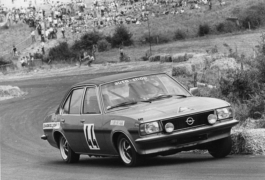 Thierry-Le-Bras - Opel-Ascona-SR - - 1976- Pouillé-Les-Coteaux - Photo-Photo-Actualité