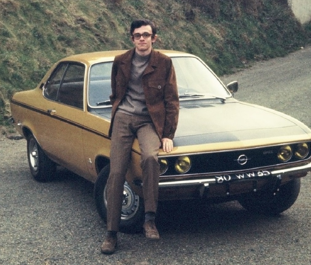 Thierry-Le-Bras - Opel-Manta-19-SR - 1971 - Photo-Famille-Le-Bras