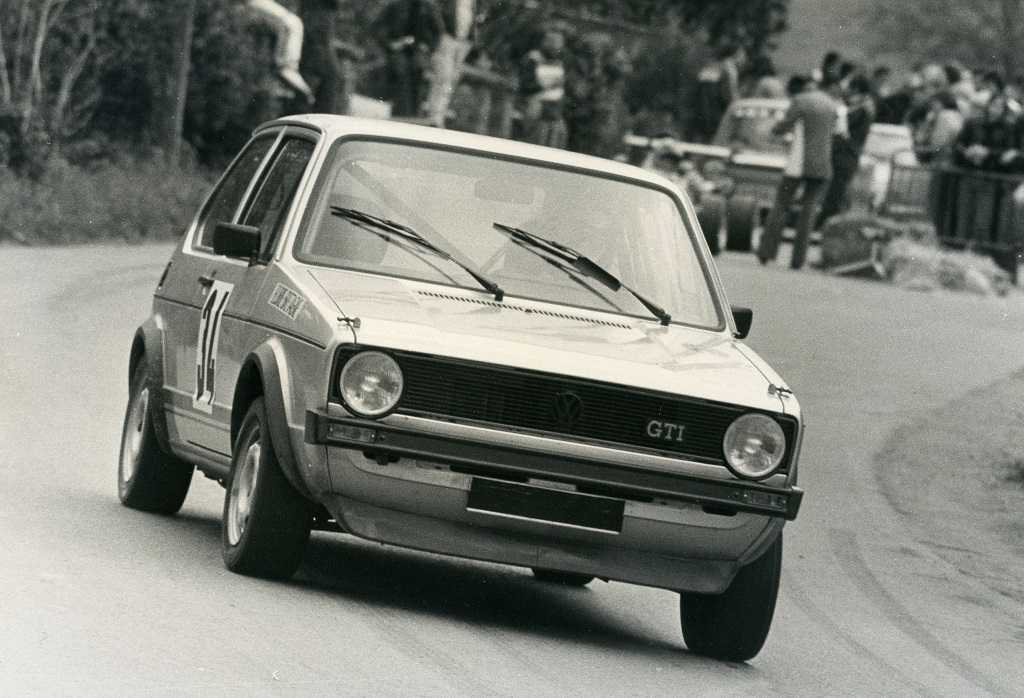 Thierry-Le-Bras - VW-Golf-GTI -1- 1977 - Saint-Germain-sur-Ille - Photo- Photo-Actualité