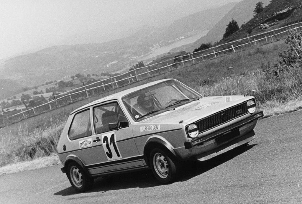 Thierry-Le-Bras - VW-Golf-GTI - 1977 - CC-Mont-Dore - Photo-Photo-Actualité
