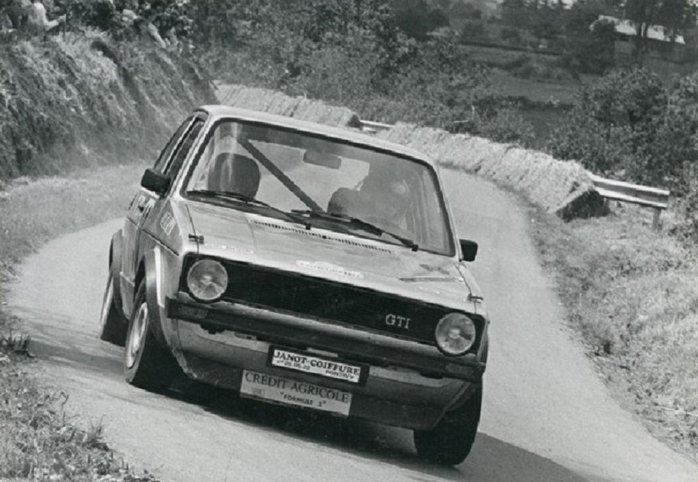 Thierry-Le-Bras - VW-Golf-GTI - 1977- CC-Saint-Gouëno- Photo- Photo-Actualité