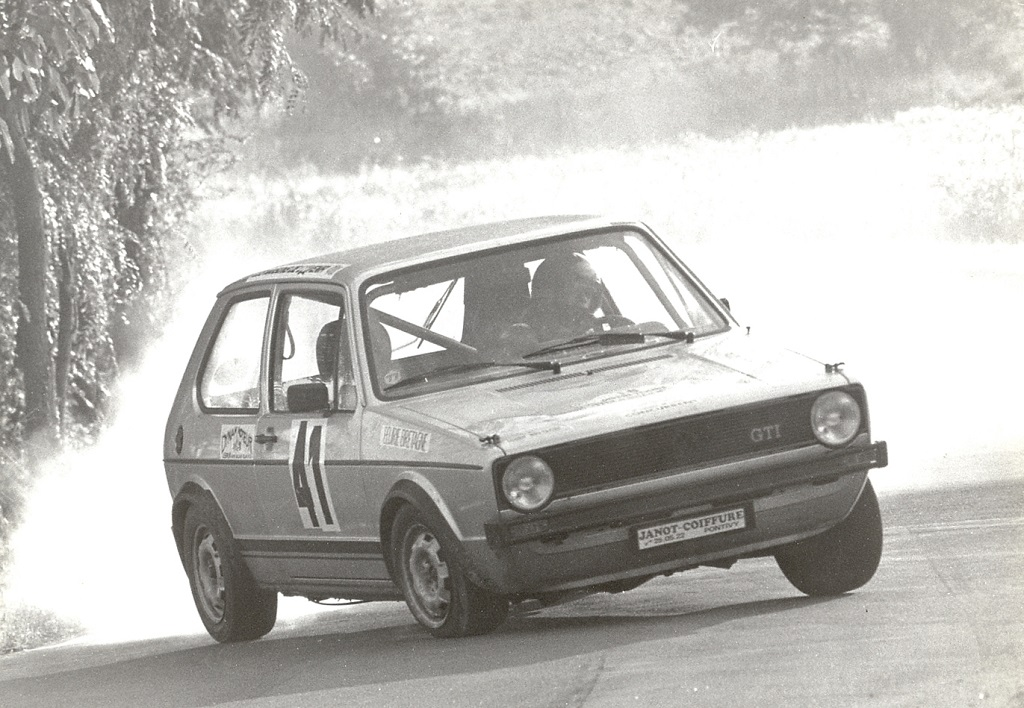 Thierry-Le-Bras- VW-Golf-GTI - 1977 - CC-Saumur - Photo-Photo-Actualité