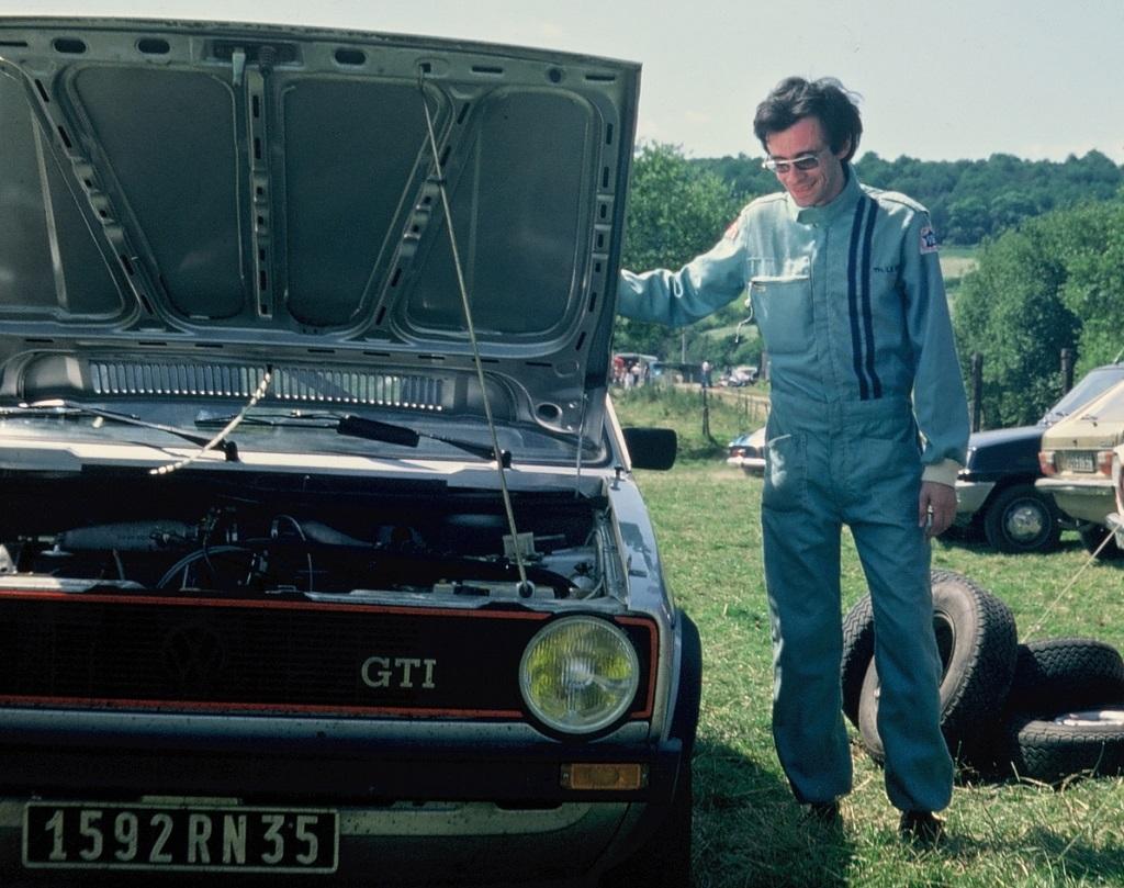 Thierry-Le-Bras - VW-Golf-GTI - 1977 - Pluméliau - Photo-équipe-TLB