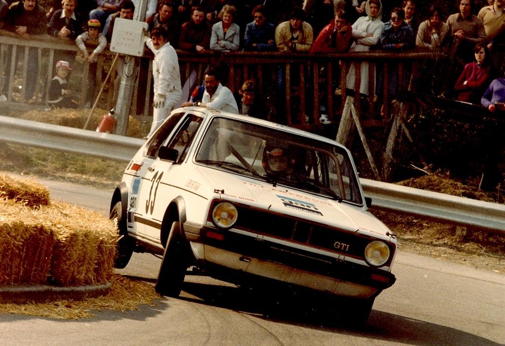 Thierry-Le-Bras - VW-Golf-GTI- 1980 - Course-de-côte-de-Saint-Germain-sur-Ille -Photo-Photo-Actualité