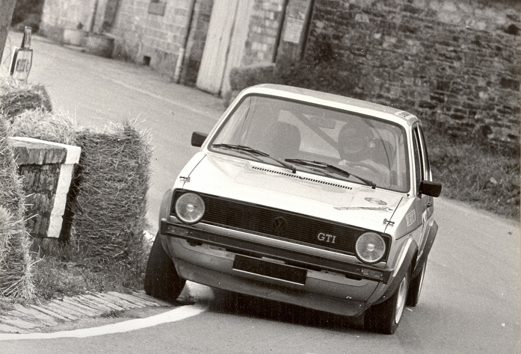 Thierry-Le-Bras - VW-Golf-GTI -2- 1977 - Saint-Germain-sur-Ille - Photo-Photo-Actualité