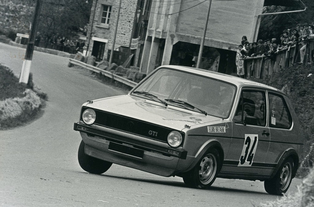 Thierry-Le-Bras - VW-Golf-GTI -4- 1977 - Saint-Germain-sur-Ille - Photo-Photo-Actualité
