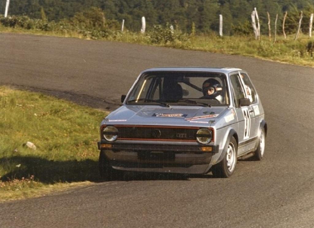 Thierry-Le-Bras - VW-Golf-GTI -MKI- 1977 - CC-Mont-Dore - Photo-Photo-Actualité