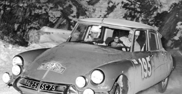 Toivonen-Mikander - DS-21 - 1966 - Rallye-Monte-Carlo