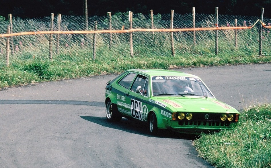 VW-Scirocco-groupe-2 1981 - CC-du-Mont-Dore - Photo-Thierry-Le-Bras