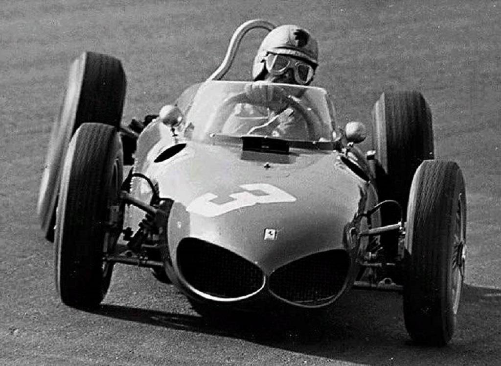 Von-Trips - Ferrari-156- 1961-