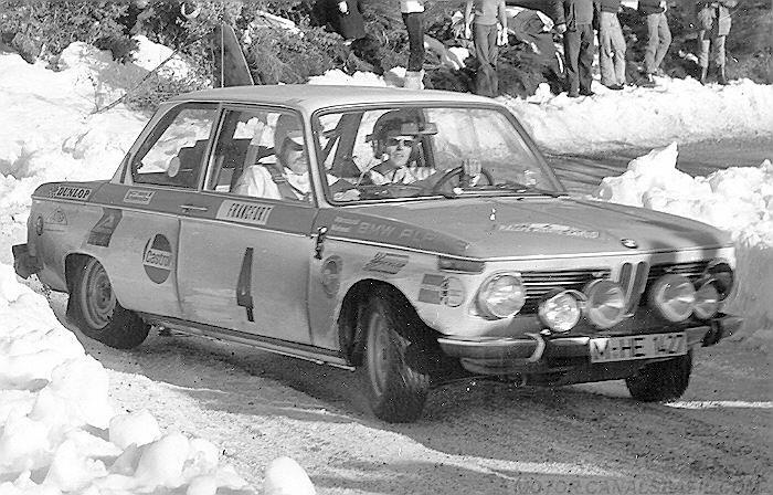 Warmbold-Mehmel-BMW-2002-Groupe-2- 1971 - Rallye-Monte-Carlo