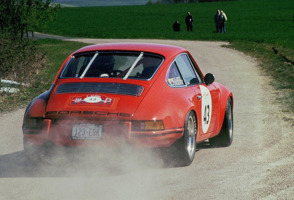 Wegner-Bill - Porsche-911-ST -2- 2003 - Tour-Auto- Photo-Thierry-Le-Bras