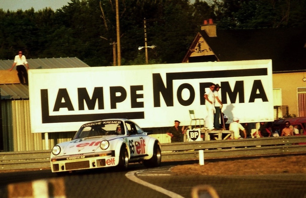 Wollek-Pironi Beaumont - Porsche-934-Kremer - 1976 -Le-Mans - Photo-Thierry-Le-Bras