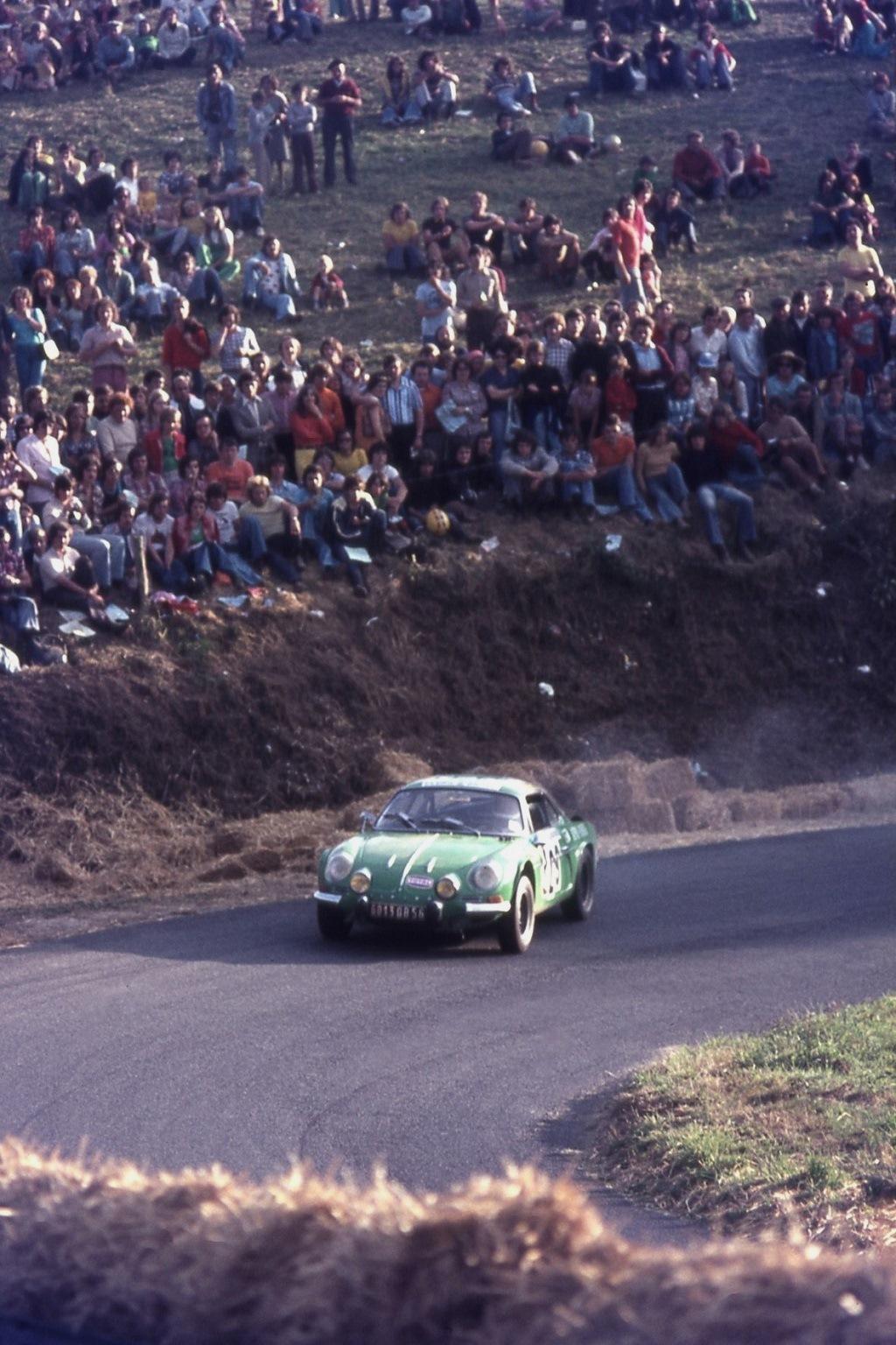 Yannick -Jambou -Alpine-Renault-Berlinette - 1974 - CC-Saint-Gouëno- Photo-Thierry-Le-Bras