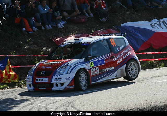 Yoann-Bonato-Benjamin-Boulloud - Citroën-C2-Super-1600 - 2007 - Tour-de-Corse - Photo-Lardet-Laurent